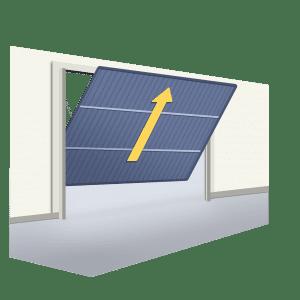 Oferta puerta Basculante de una hoja