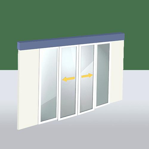 Puertas Automática de Cristal