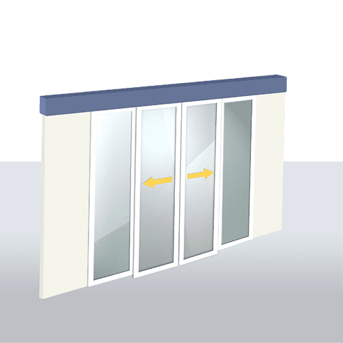 Oferta Puerta Automática de Cristal