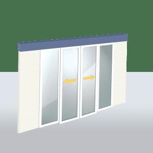 Oferta de Puerta Automática de Cristal