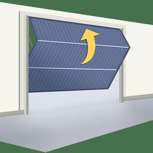 Oferta puerta Basculante Doble Hoja