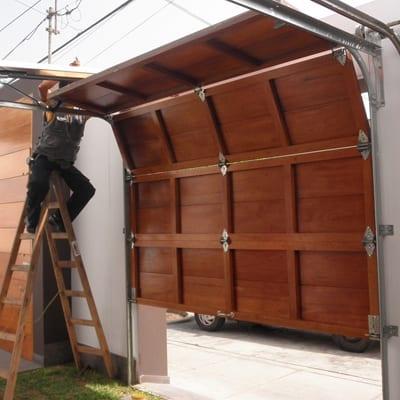 Puertas Seccionales Instalacion