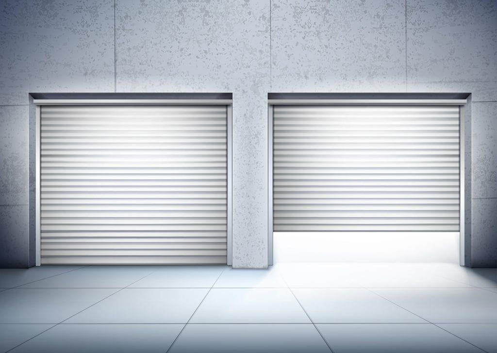 Puertas automáticas con placas solares