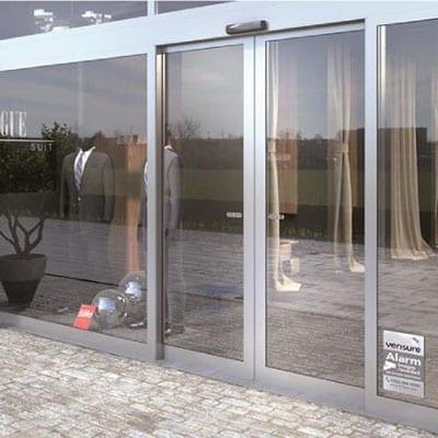 Tipos de puertas de cristal automáticas